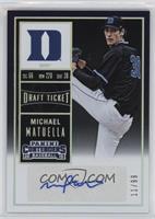 Michael Matuella (Black Jersey) /99