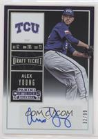 Alex Young (Mid-Windup) #/99
