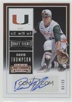 David Thompson (White Jersey) #/99