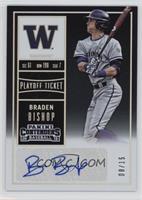 Braden Bishop (Blue Ink) #/15