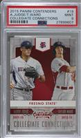 Aaron Judge, Taylor Ward [PSA 9 MINT]