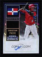 Christian Pache #/23