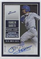 Franklin Barreto #7/15