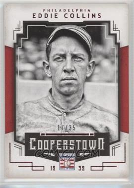 2015 Panini Cooperstown - [Base] - Red #29 - Eddie Collins /35