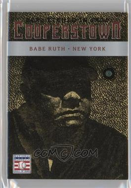2015 Panini Cooperstown - Etched in Cooperstown - Gem Emerald #4 - Babe Ruth /5