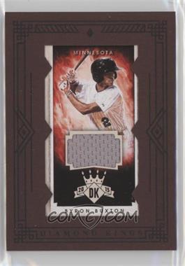 2015 Panini Diamond Kings - [Base] - Mini Framed Materials [Memorabilia] #206 - Byron Buxton /49