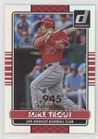 Mike Trout /400