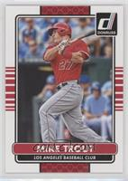 Mike Trout (Red Jersey; Los Angeles)