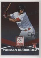Yorman Rodriguez #/7