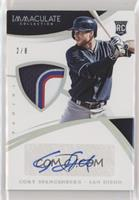 Rookie Material Autos - Cory Spangenberg [EXtoNM] #/8