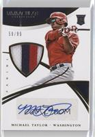 Rookie Material Autos - Michael Taylor #/99