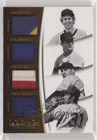 Bob Feller, Don Drysdale, Don Sutton, Fergie Jenkins #4/15