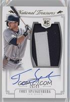 Rookie Material Signatures - Cory Spangenberg /25