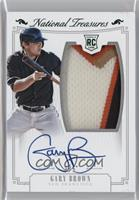 Rookie Material Signatures - Gary Brown /5