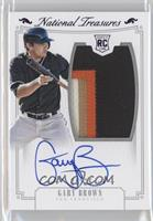 Rookie Material Signatures - Gary Brown /25