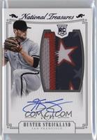 Rookie Material Signatures - Hunter Strickland /49
