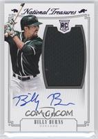 Rookie Material Signatures - Billy Burns #/49