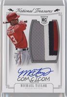 Rookie Material Signatures Silver - Michael Taylor /99
