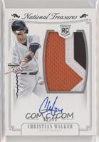 Rookie Material Signatures Silver - Christian Walker #/99