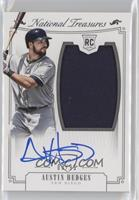Rookie Material Signatures Silver - Austin Hedges #/99