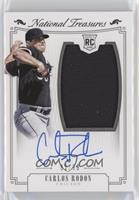 Rookie Material Signatures Silver - Carlos Rodon #/99
