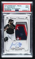 Rookie Material Signatures Silver - J.T. Realmuto [PSA9MINT] #/99