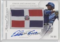 2016 National Treasures - Edwin Encarnacion /99