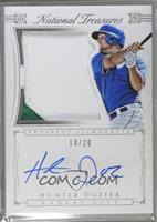 Hunter Dozier [Noted] #/20