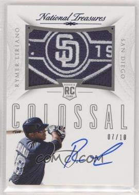 2015 Panini National Treasures - Rookie Colossal Signatures - Team Patch Prime #18 - Rymer Liriano /10