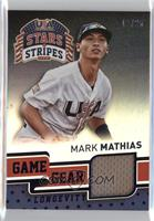 Mark Mathias [Noted] #/25