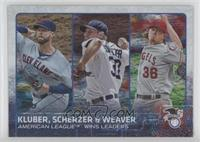 Corey Kluber, Max Scherzer, Jered Weaver /179