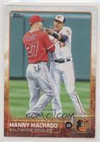 Manny Machado (With Mike Trout)
