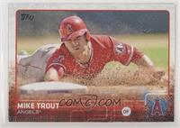 Mike Trout (Sparkle on Helmet) [Noted]