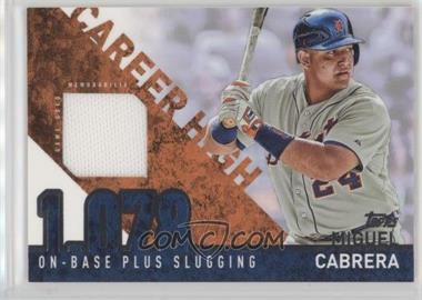 2015 Topps - Career High Relics #CHR-MC - Miguel Cabrera