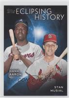 Stan Musial, Hank Aaron