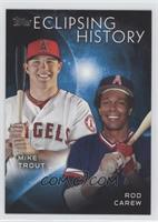 Rod Carew, Mike Trout