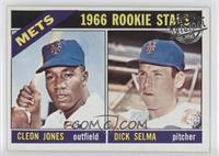 Cleon Jones, Dick Selma