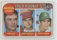 Bobby Floyd, Larry Burchart, Rollie Fingers [Good to VG‑EX]