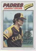 Johnny Grubb [Good to VG‑EX]
