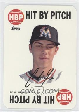 2015 Topps Archives - 1968 Topps Game Inserts #24 - Christian Yelich