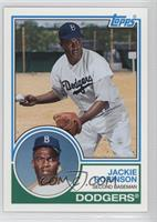 jackie robinson baseball cards matching topps archives baseball