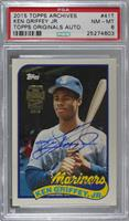Ken Griffey Jr. /10 [PSA 8 NM‑MT]