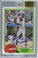 George Foster (1981 Topps) /24 [ENCASED]