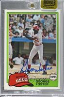 George Foster (1981 Topps) [BuyBack] #/24