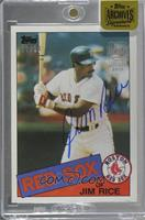 Jim Rice (1985 Topps) [Buy Back] #/30
