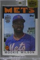Mookie Wilson (1986 Topps) /52 [Buy Back]