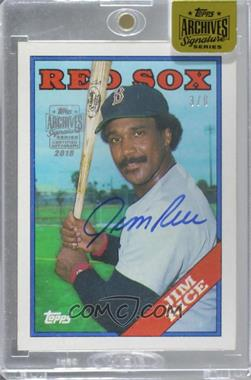 2015 Topps Archives Signature Edition Buybacks - [Base] #88T-675 - Jim Rice /8 [Buy Back]