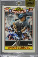 Omar Vizquel (1990 Topps Glossy Rookie Commemerative) /1 [Buy Back]