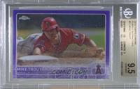 Mike Trout [BGS 9.5 GEM MINT] #/250