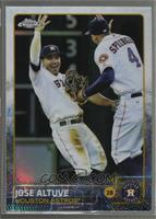 Jose Altuve (With Teammate)